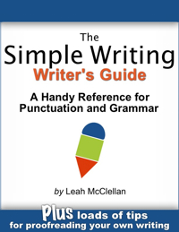 Simple Writing Writer's Guide blue200