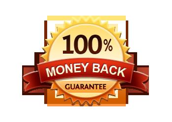 Money Back Guarantee 100%