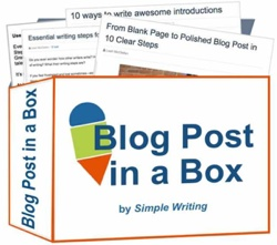 writing courses for blog posts