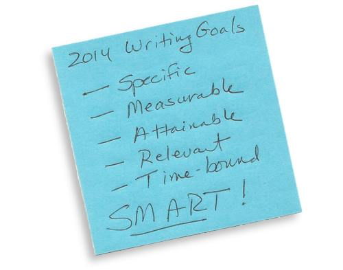 2014 writing goals