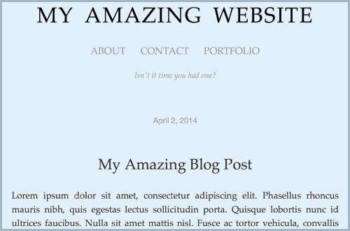 Writer's website