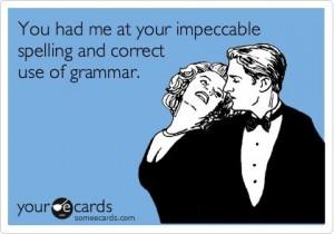 Does grammar matter