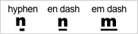 Rules for em dashes in writing