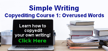 Eliminate overused words for clear, sharp writing