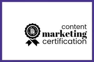 Content Marketing Certification by Smart Blogger